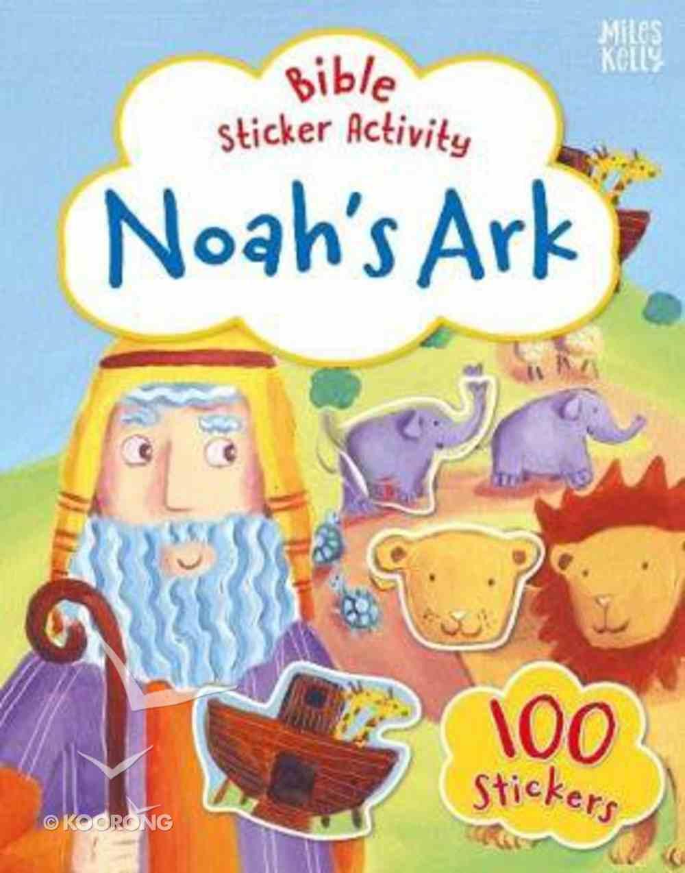 Bible Sticker Activity: Noah's Ark Paperback