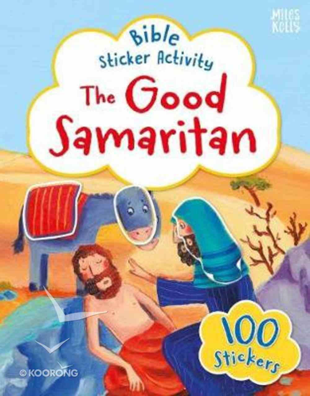 Bible Sticker Activity: The Good Samaritan Paperback