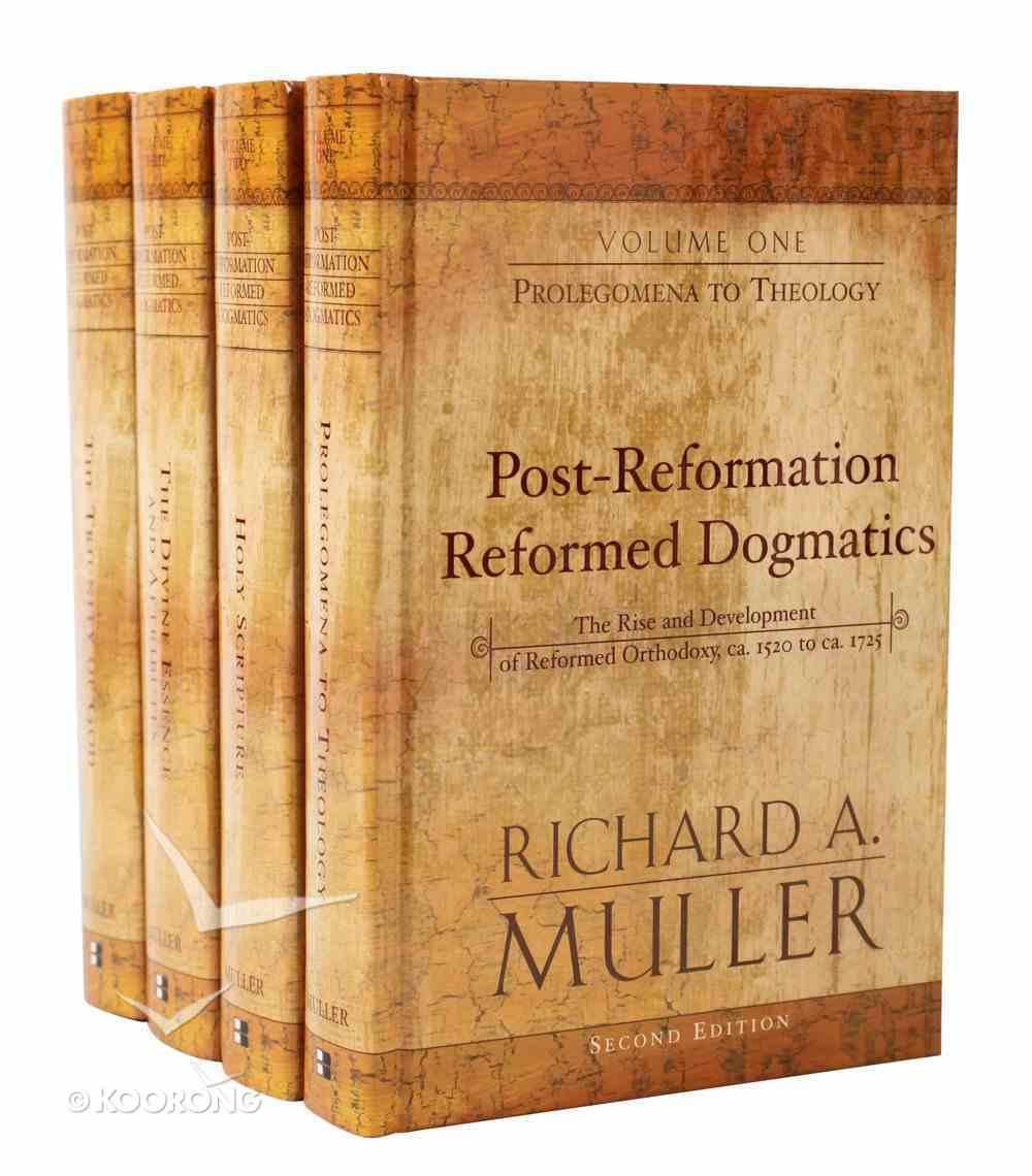 Post-Reformation Reformed Dogmatics (4 Vol Set) Hardback
