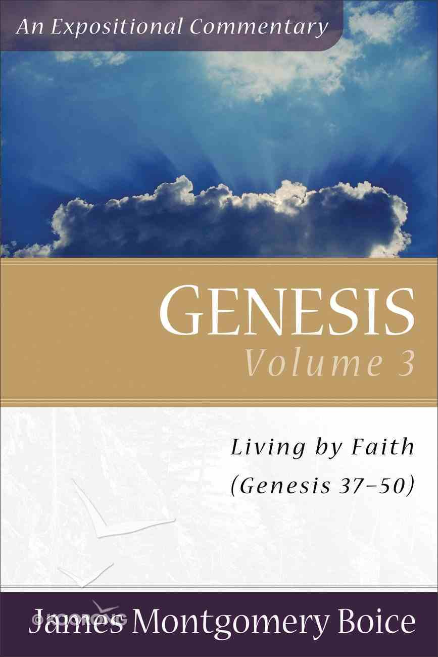 Genesis (Volume 3) (Expositional Commentary Series) Paperback
