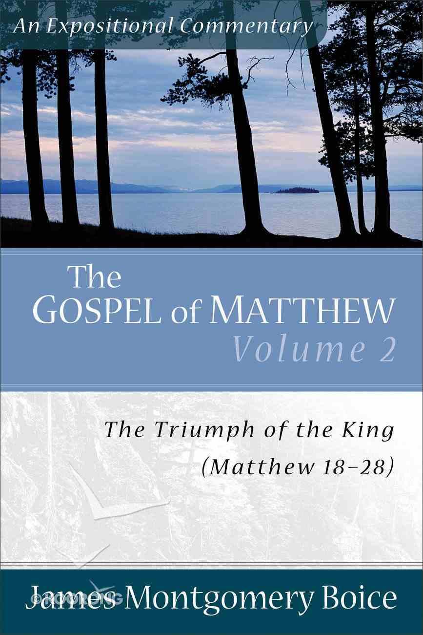 Gospel of Matthew (Volume 2) (Expositional Commentary Series) Paperback