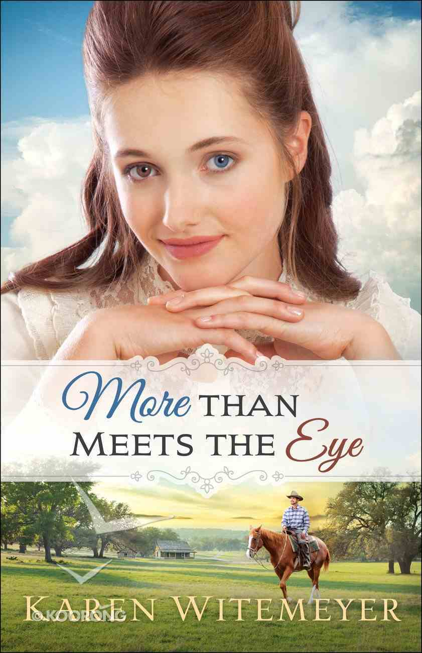 More Than Meets the Eye (#01 in A Patchwork Family Novel Series) Paperback