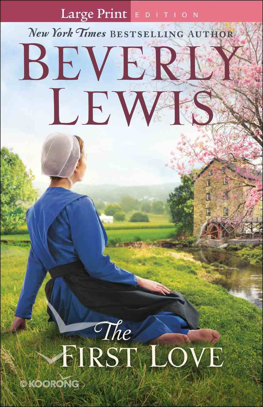 The First Love (Large Print) Paperback