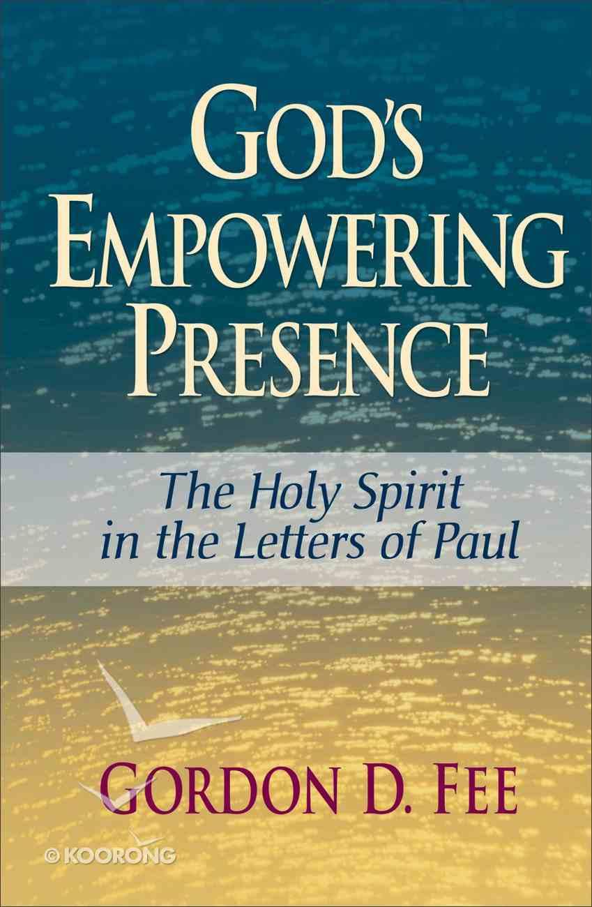 God's Empowering Presence Paperback