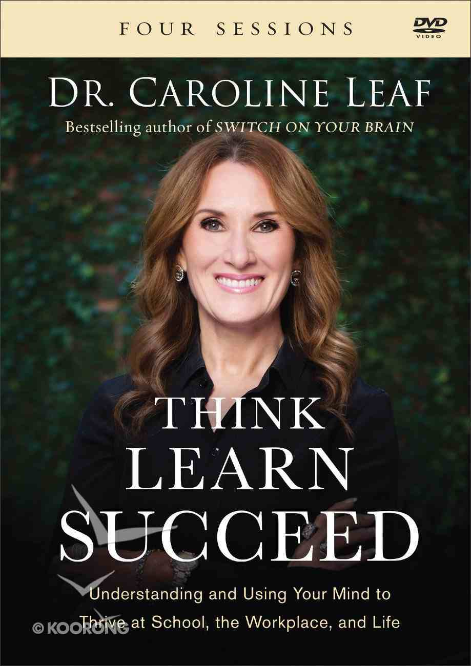 Think, Learn, Succeed: Understanding and Using Your Mind to Thrive At School, the Workplace, and Life (Dvd) DVD