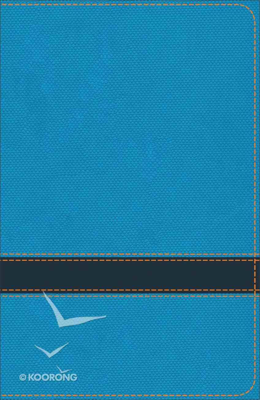 KJV Study Bible For Boys Ocean/Navy (Red Letter Edition) Imitation Leather