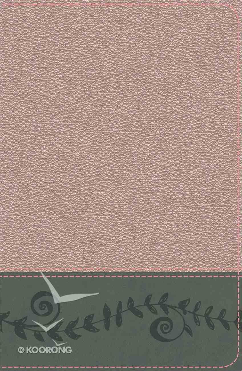 KJV Study Bible For Girls Pink Pearl/Gray Vine Design (Red Letter Edition) Imitation Leather