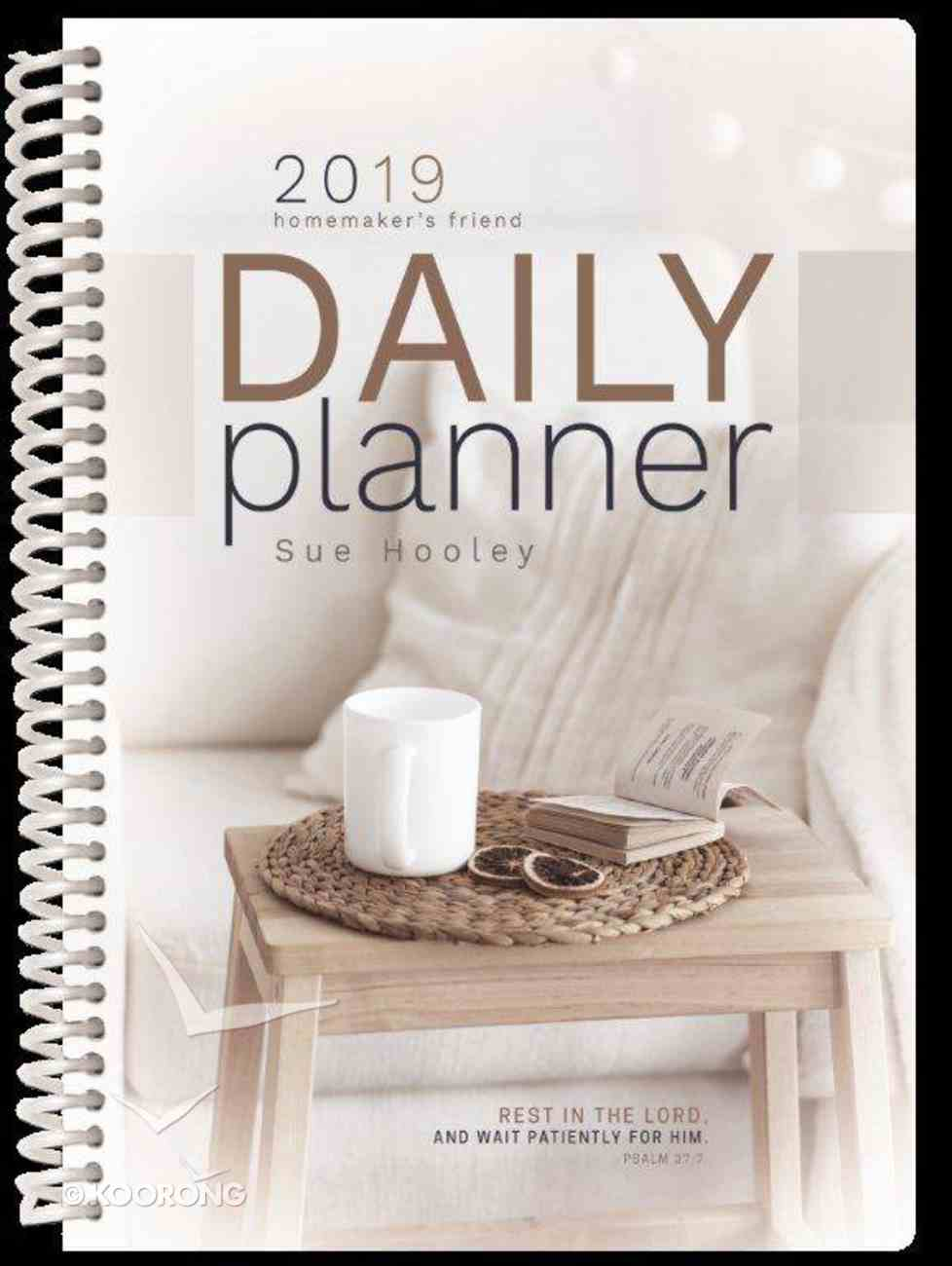 2019 Daily Diary/Planner: The Homemaker's Friend Spiral