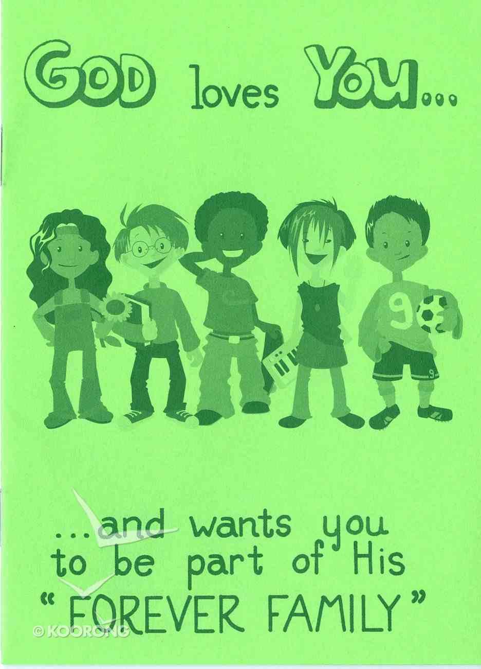 God Loves You (Pack Of 25) Booklet