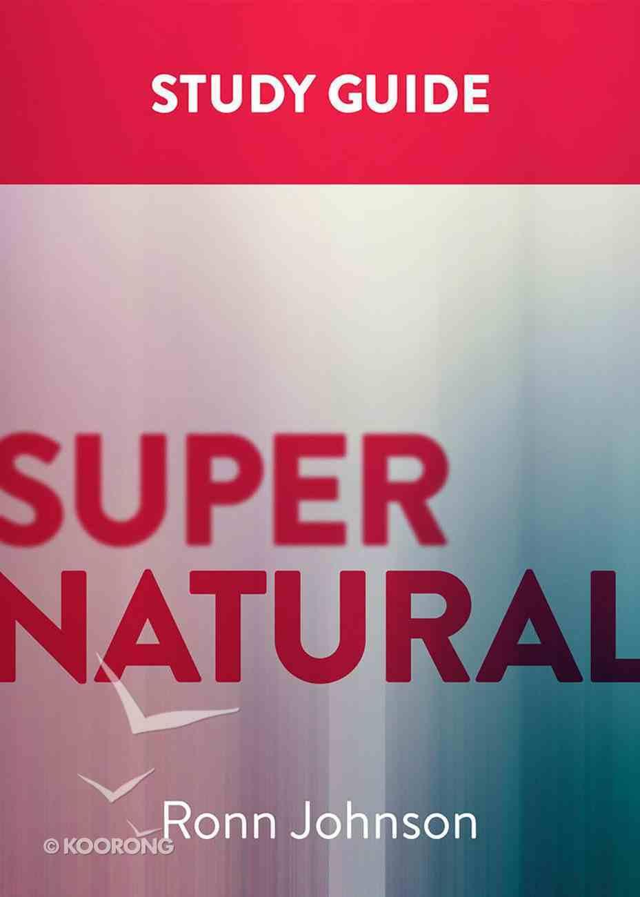 Supernatural: A Study Guide Paperback