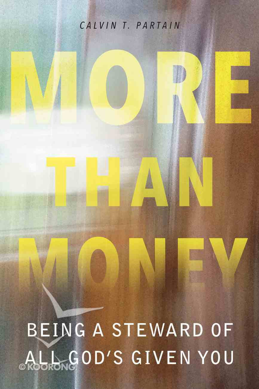 More Than Money: Being a Steward of All God's Given You Paperback