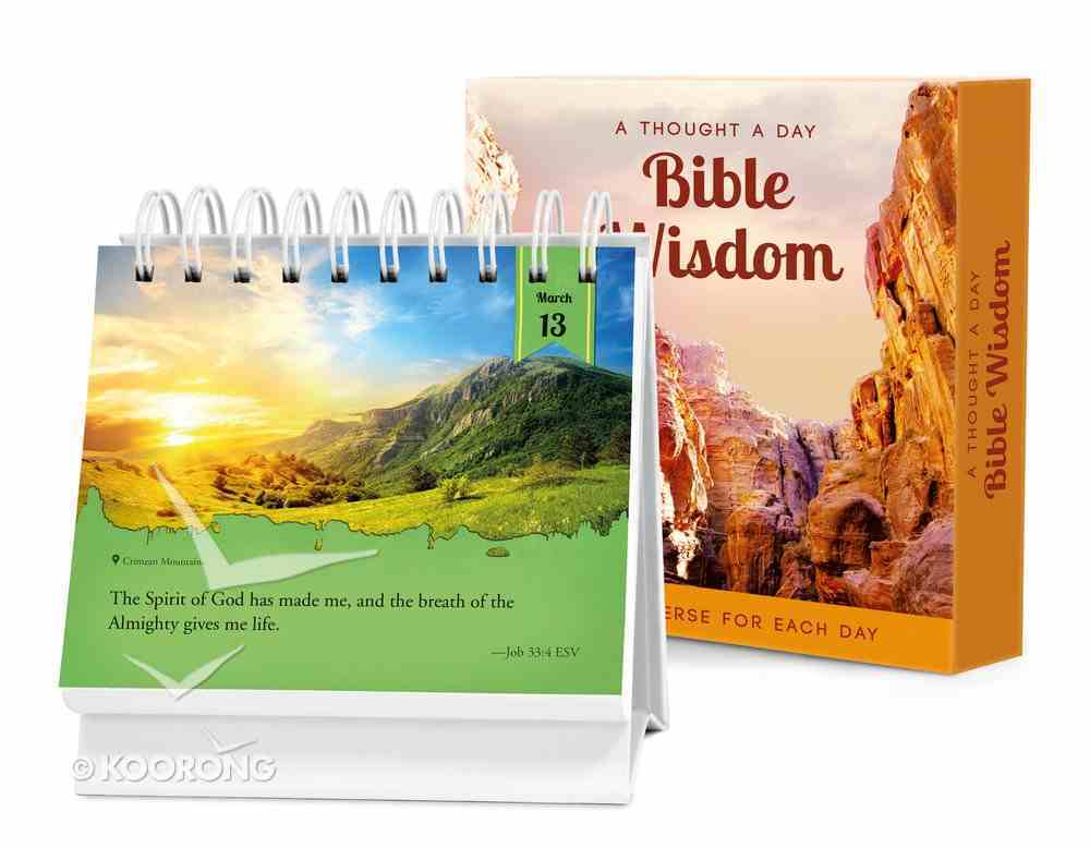 A Thought a Day: Bible Wisdom Hardback