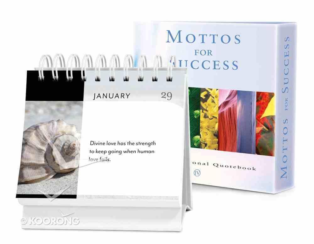 Mottos For Success (Vol. 4) Hardback