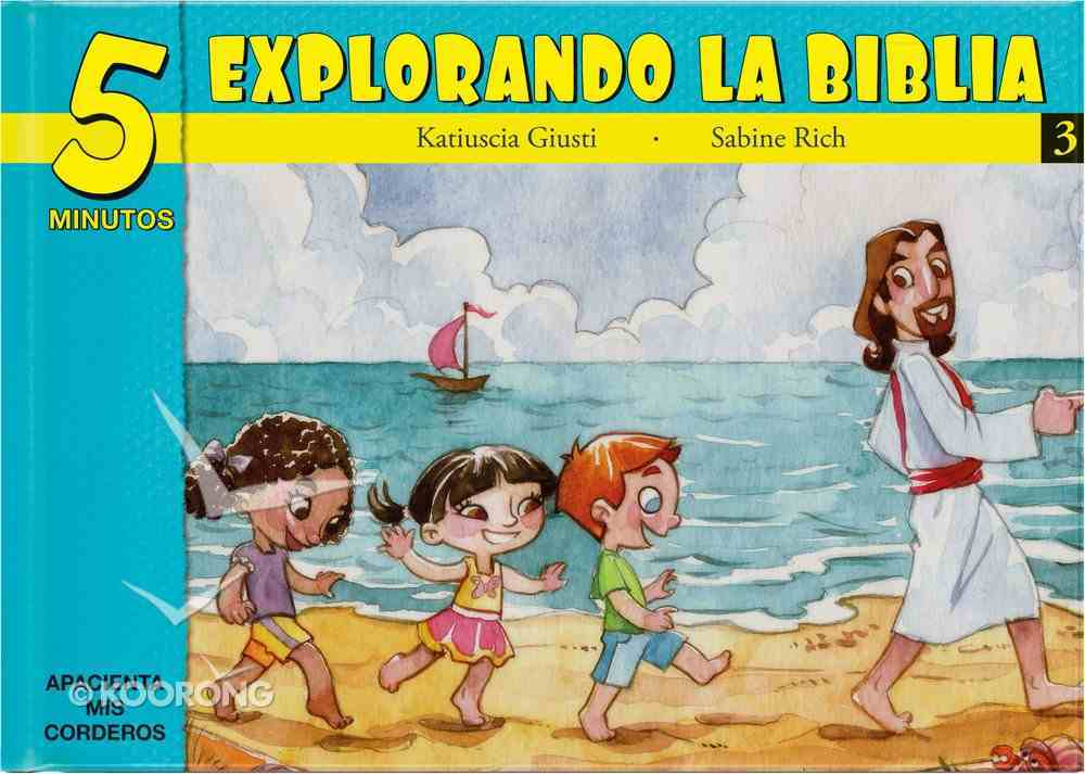 15 Bible Based Devotionals For Young Children (Spanish) (#03 in Five Minute Bible Devotionals Series) Hardback