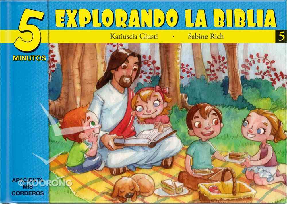 15 Bible Based Devotionals For Young Children (Spanish) (#05 in Five Minute Bible Devotionals Series) Hardback