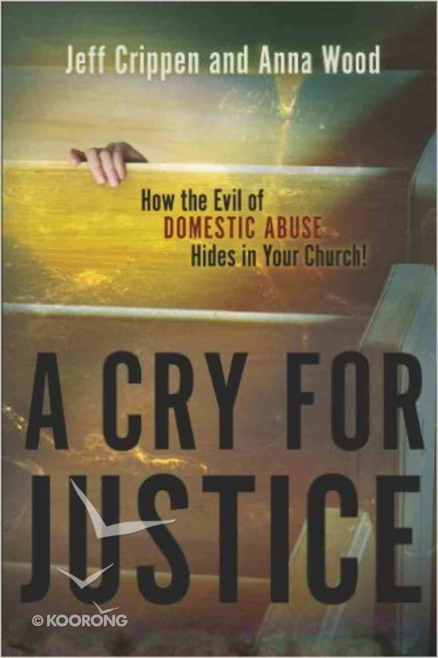 Cry For Justice Paperback