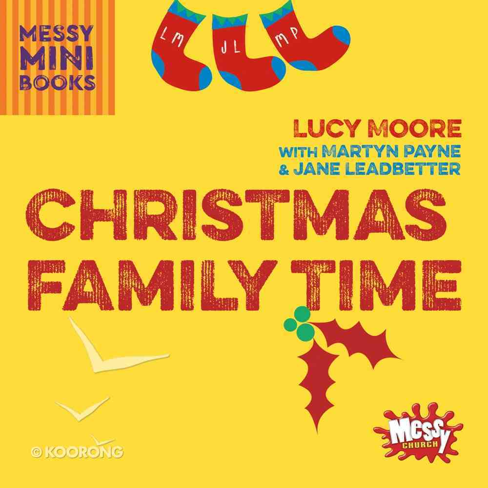 Christmas Family Time (Messy Church Series) Paperback