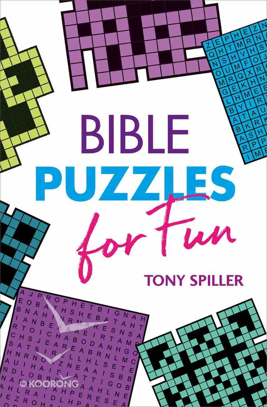 Bible Puzzles For Fun Paperback