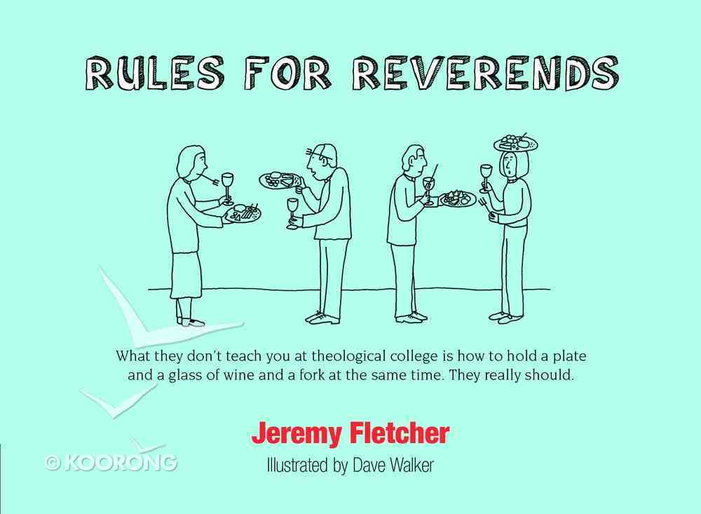 Rules For Reverends Paperback