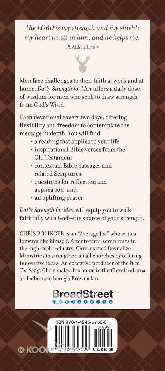 Daily Strength For Men (365 Daily Devotions Series) Imitation Leather
