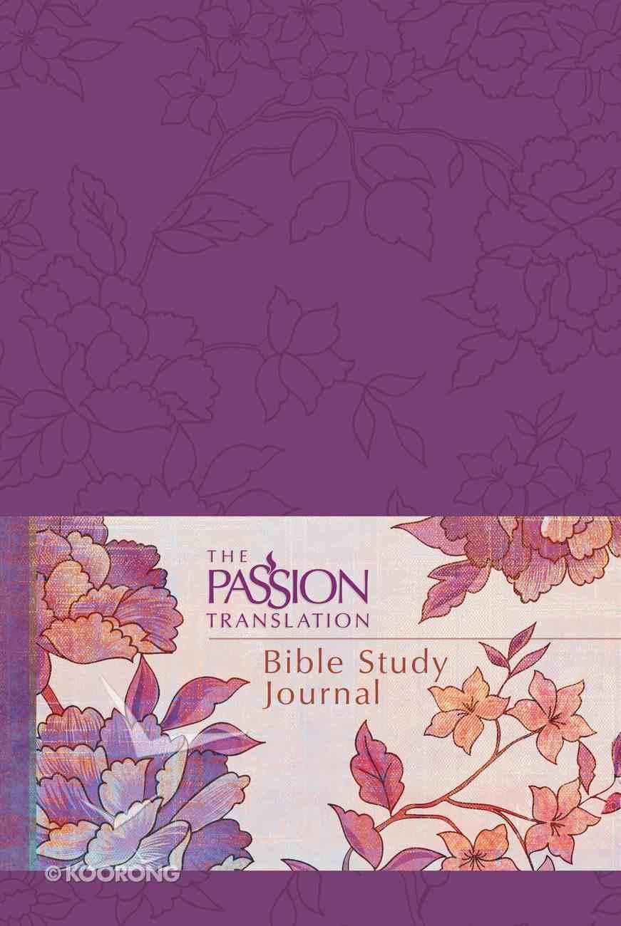 TPT Bible Study Journal Peony Imitation Leather