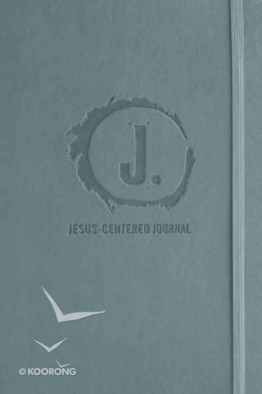 Journal: Jesus-Centered Journal, Charcoal Imitation Leather