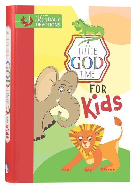 Product: Little God Time For Kids, A: 365 Daily Devotions Image