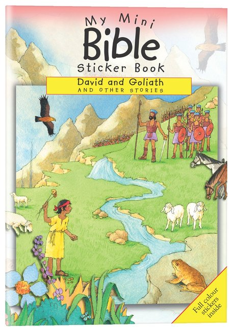 Product: My Mini Bible Sticker Book: David And Goliath And Other Stories Image