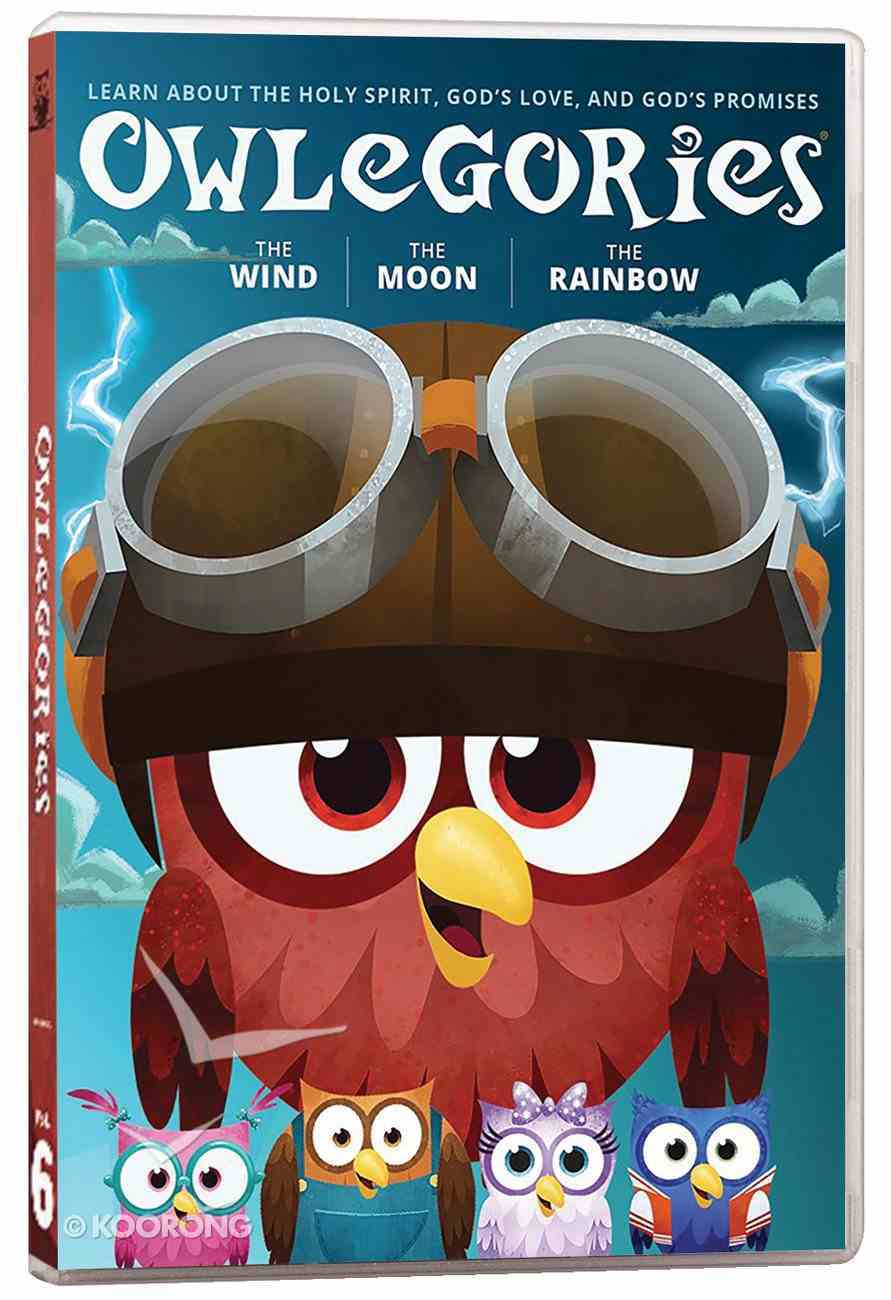 Owlegories #06: The Wind/The Moon/The Rainbow DVD