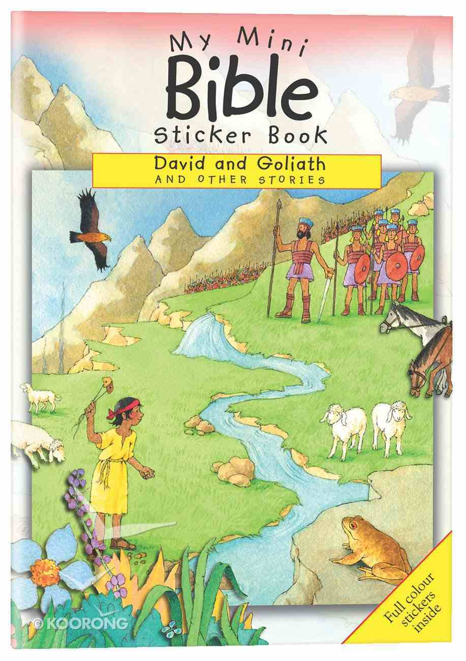 My Mini Bible Sticker Book: David and Goliah and Other Stories Paperback