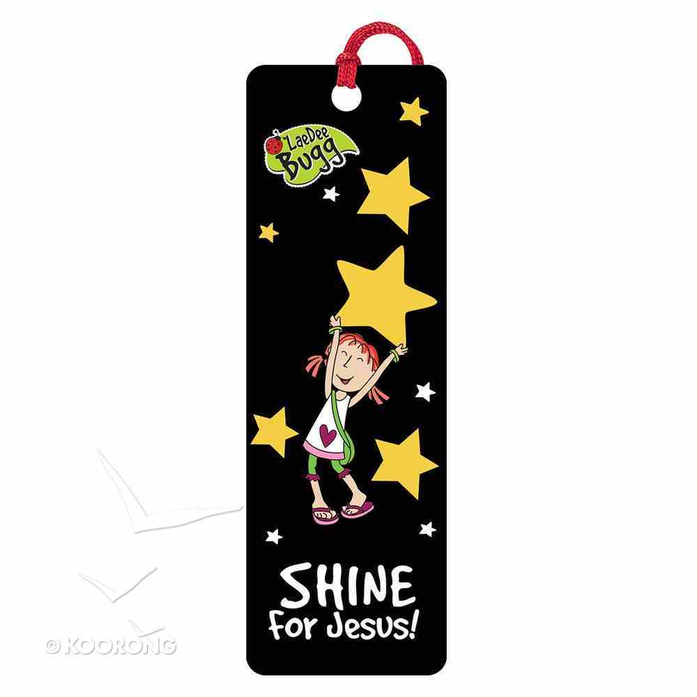 Bookmark 3d: Laedee Bugg - Shine For Jesus! Stationery