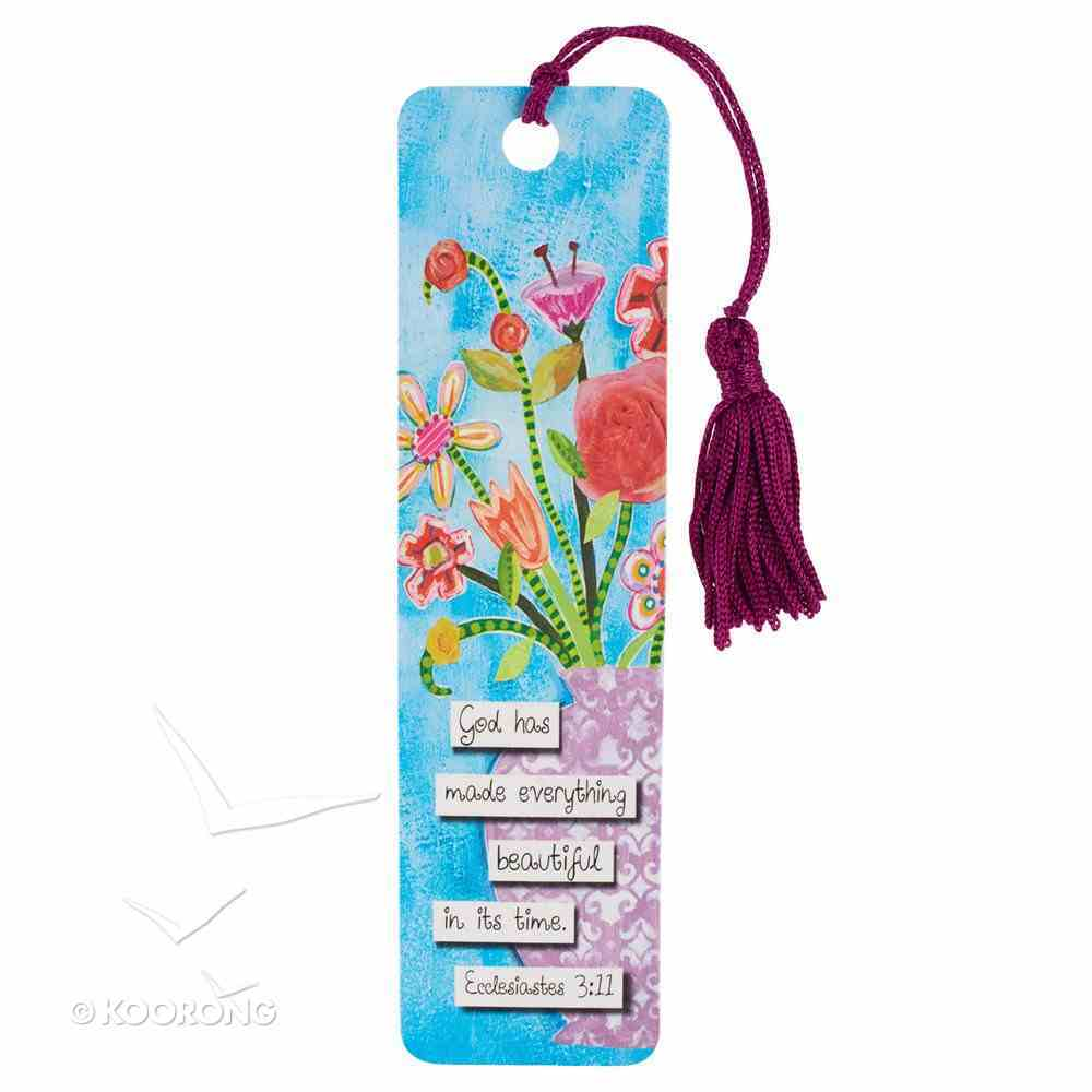 Bookmark With Tassel: God Has Made Everything Beautiful Stationery