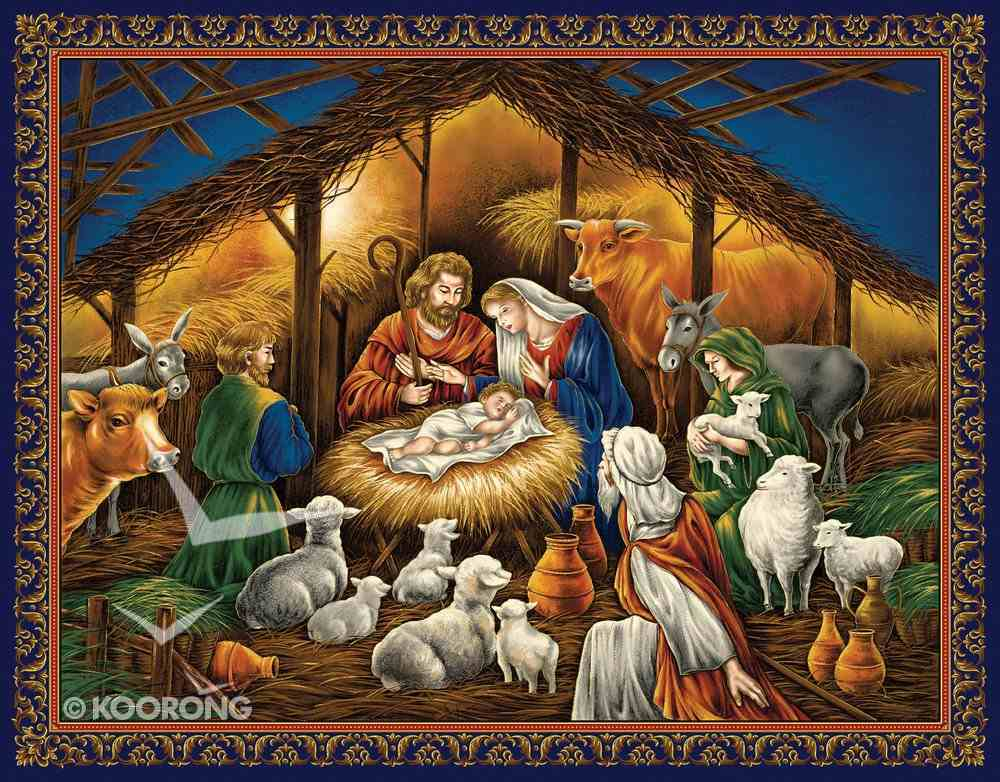 Christmas Boxed Cards: Nativity, Scripture Box