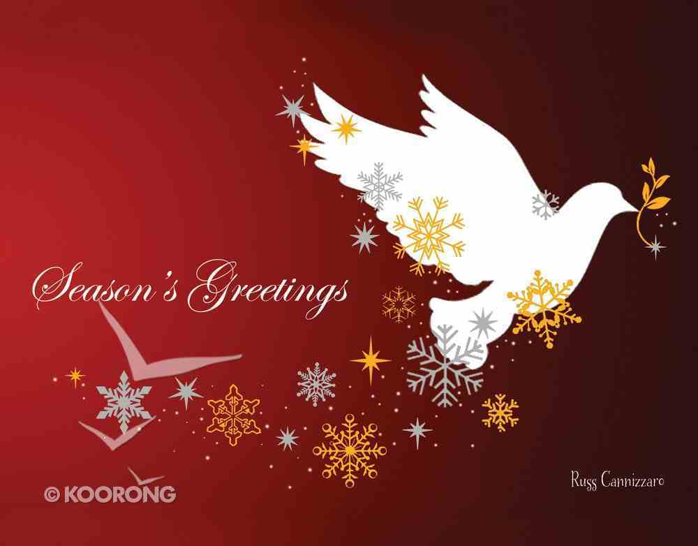 Christmas Boxed Cards: Season's Greetings Dove, Scripture Box