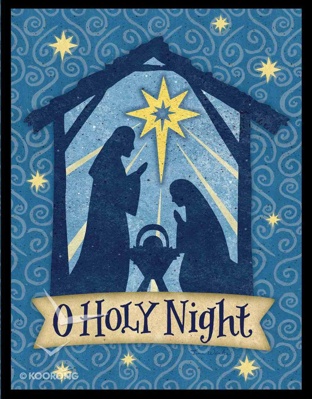 Christmas Boxed Cards: O Holy Night, Scripture Box