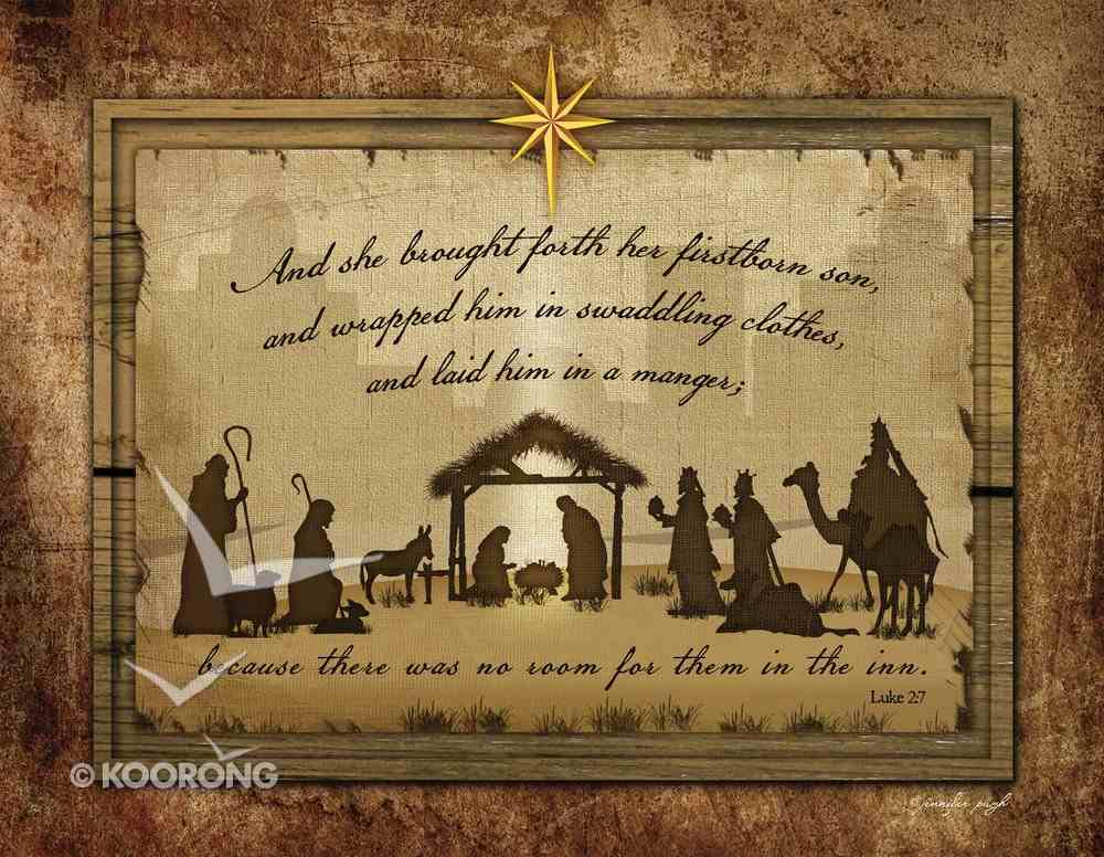 Christmas Boxed Cards: Nativity Silhouette, Scripture Box