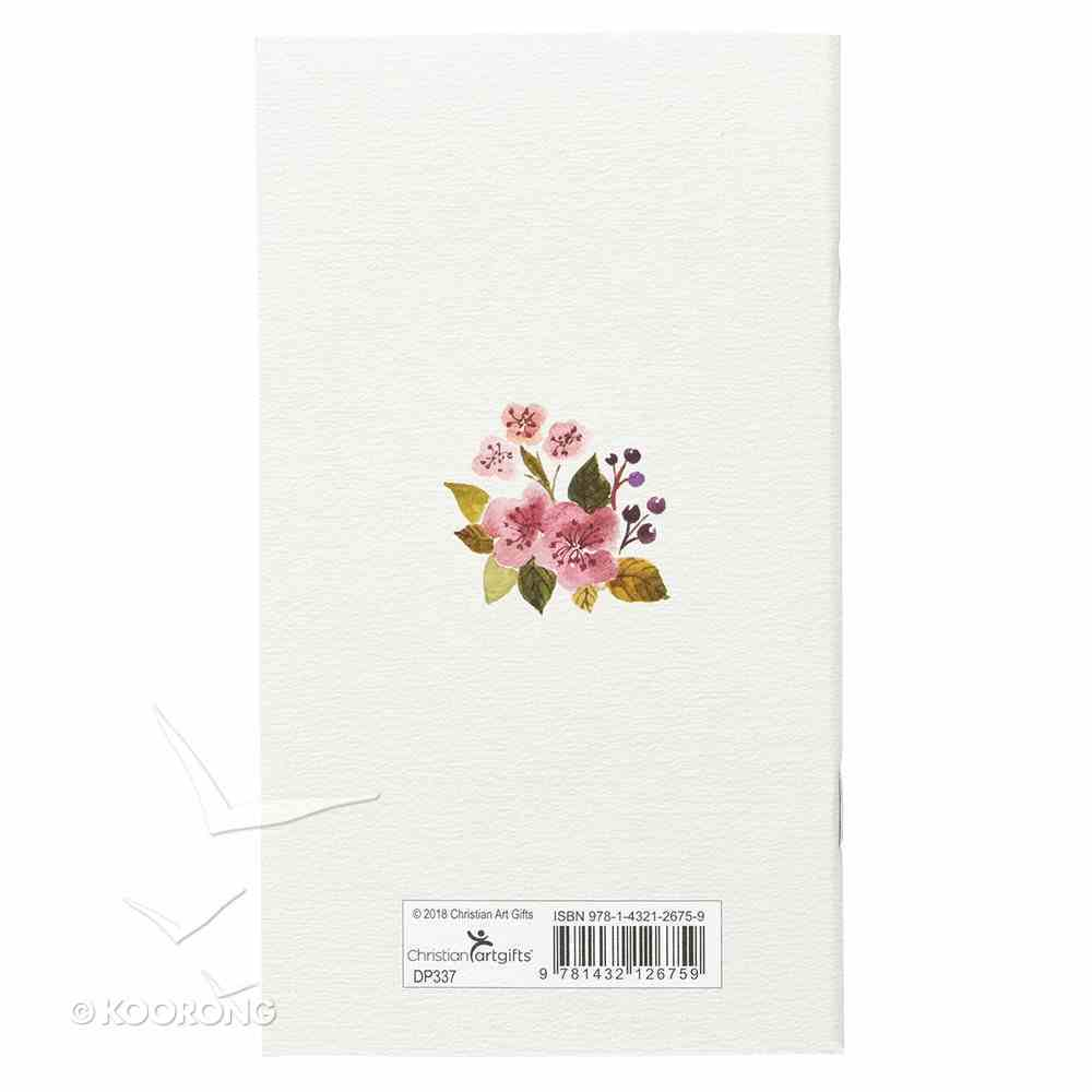 2019 Small Daily Diary/Planner: Hope Anchors the Soul, Floral/Anchor Paperback