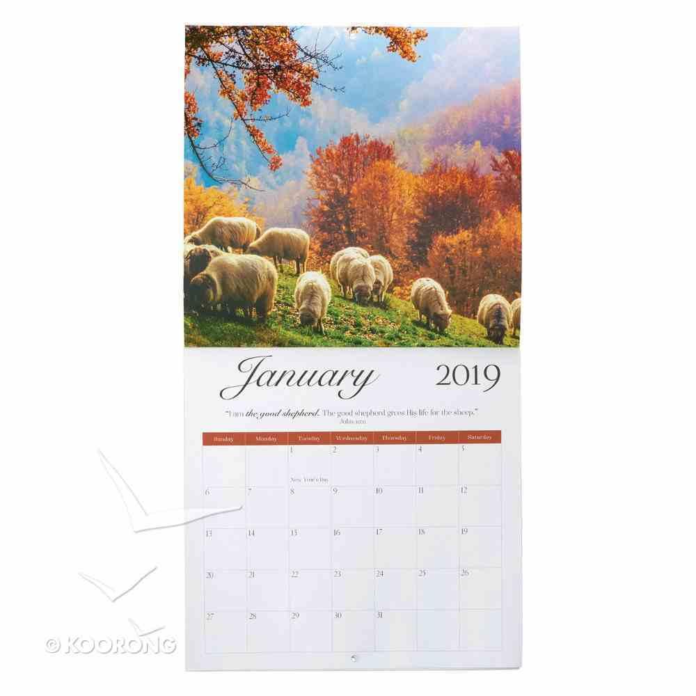 2019 Large Calendar: The Names of Jesus Calendar