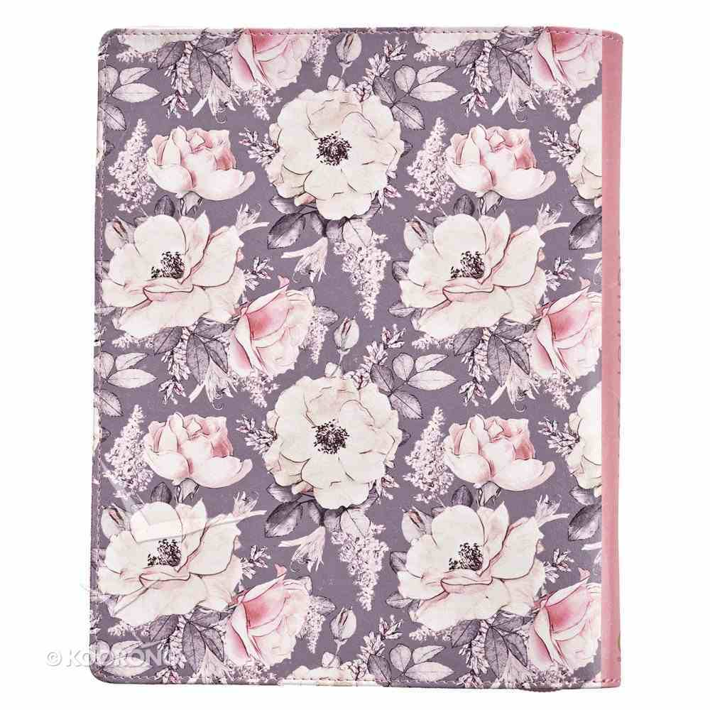 2019 18-Month Diary/Planner: Pink Floral Pattern Imitation Leather
