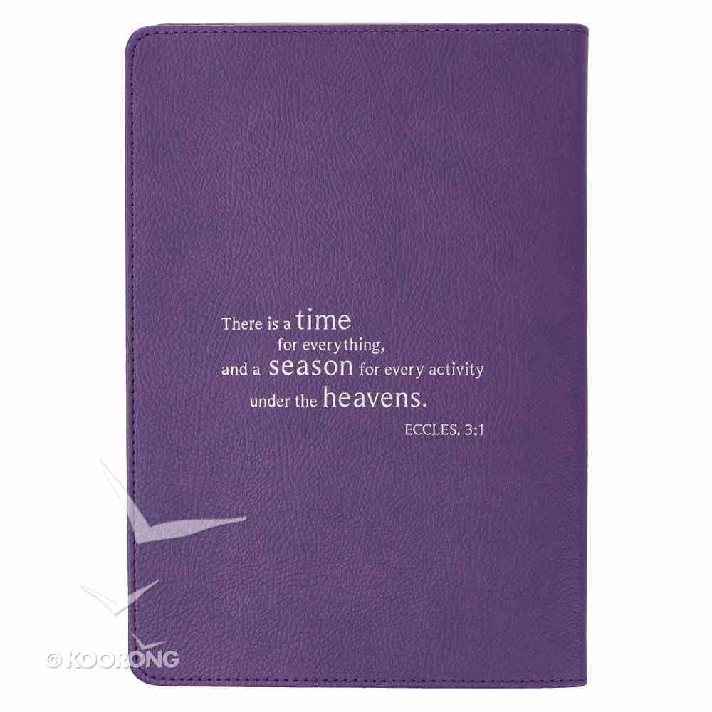 2019 Executive 12-Month Diary/Planner: Twenty 19, Purple Imitation Leather