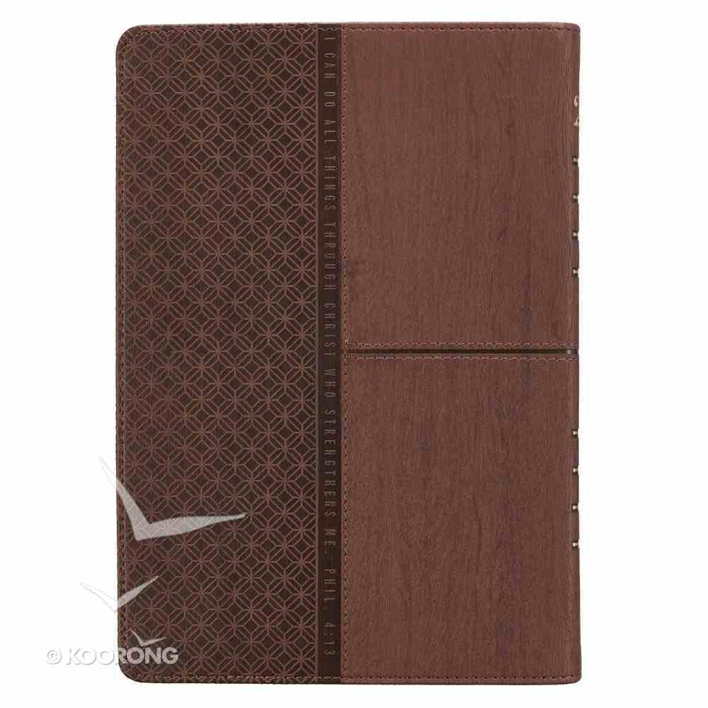 2019 Executive 12-Month Diary/Planner: Brown Imitation Leather