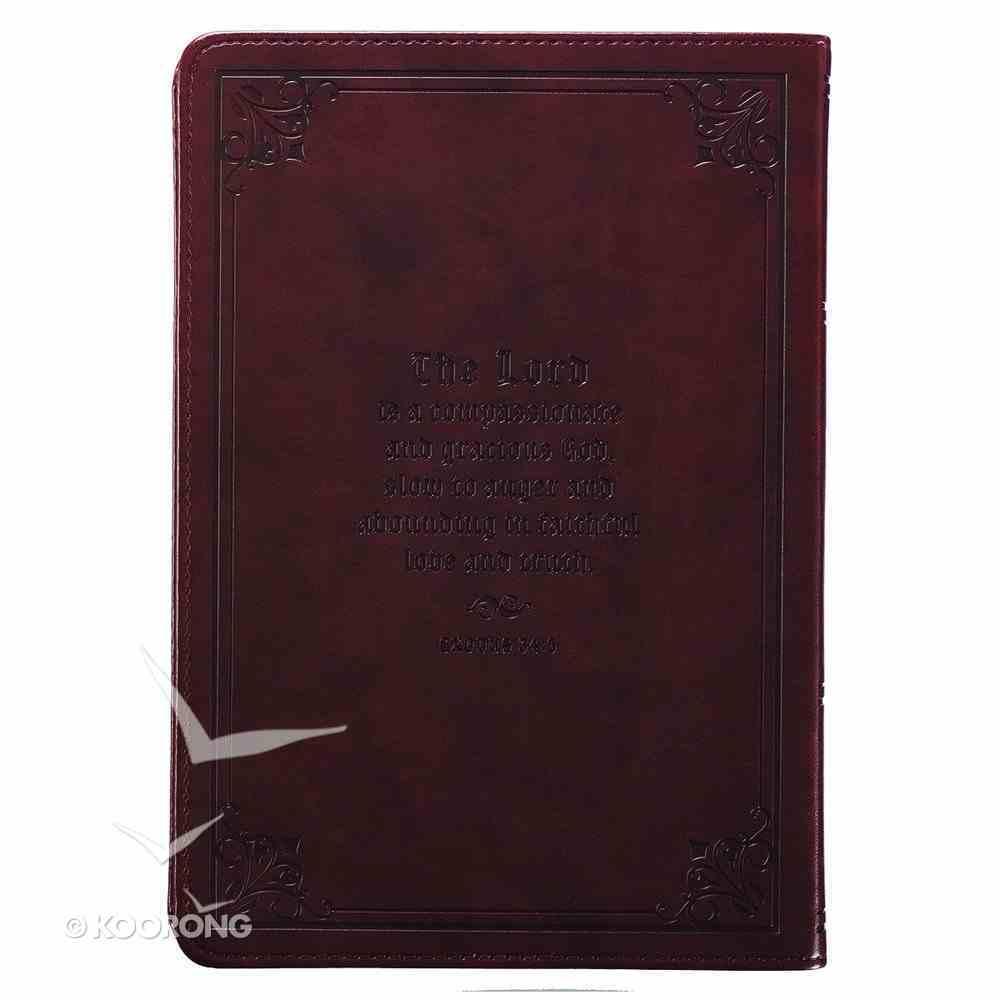 Journal: Names of God, Brown/Black Imitation Leather