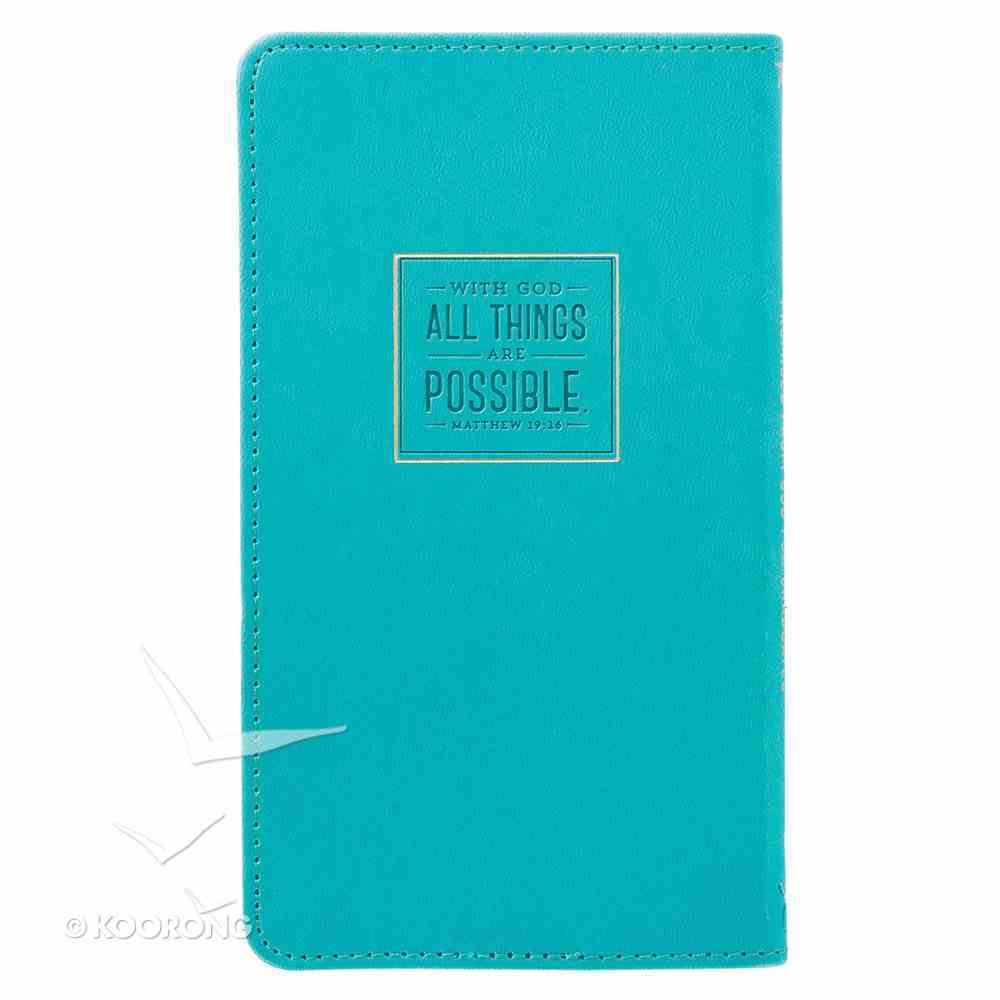 Promises From God For Graduates (Mint Green Luxleather) Imitation Leather