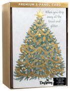 Christmas Boxed Cards: Five Panel Card Tree to Cross (John 14:6 Nasb) Box