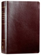 NIV Biblical Theology Study Bible Burgundy (Black Letter Edition) Bonded Leather
