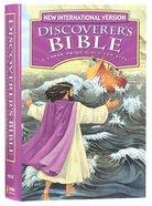 NIV Discoverer's Bible: A Large Print Bible For Kids (Black Letter Edition) Hardback