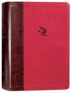 NKJV Spirit-Filled Life Bible Burgundy (Red Letter Edition) (Third Edition) Premium Imitation Leather