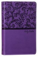 NKJV Deluxe Gift Bible Purple Red Letter Edition Premium Imitation Leather