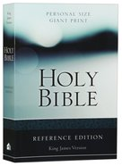 KJV Personal Size Giant Print Reference Bible (Red Letter Edition) Paperback