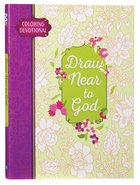 Adult Coloring Devotional: Draw Near To God image